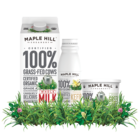 Save $1.00 on any ONE (1) Maple Hill Milk, Kefir or 16 oz. Greek Yogurt